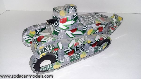 Popcan tank FT-17 plans