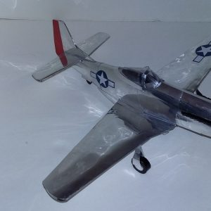 Pop can airplane P-51D Mustang