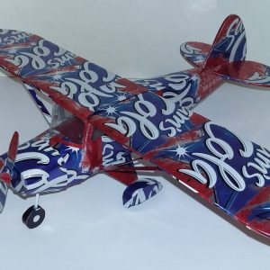 Pop can airplane Piper Tri-pacer