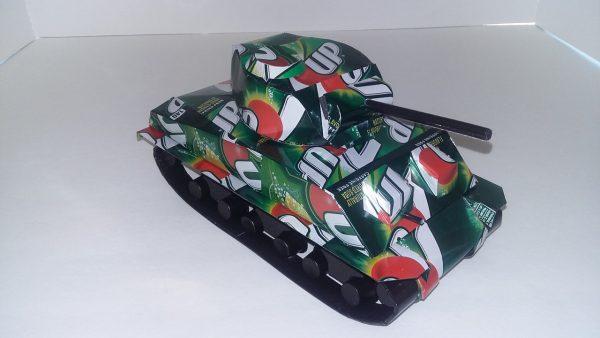 popcan Sherman Tank plans