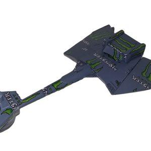 Popcan Klingon Battlecruiser plans