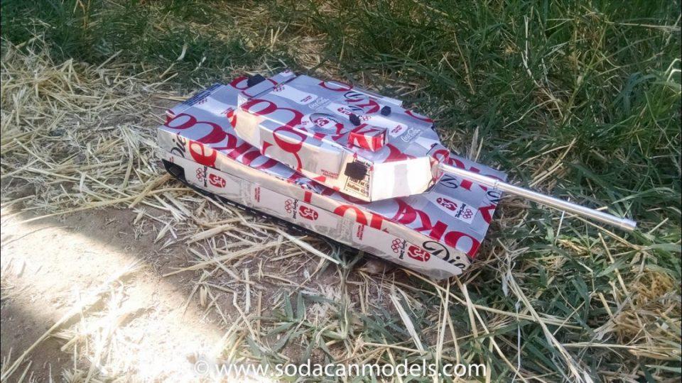 Popcan Abrams Battle Tank