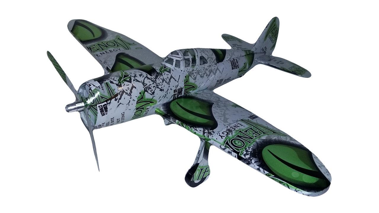 Pop can airplane P-47 Thunderbolt